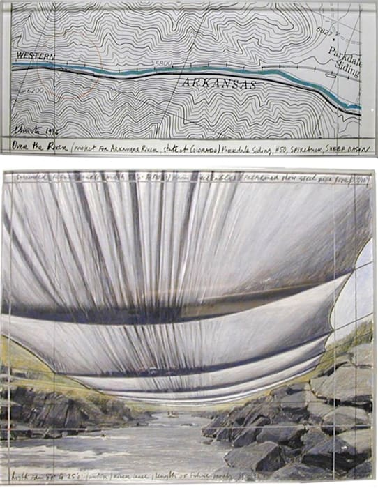 Over The River by Christo & Jeanne-Claude