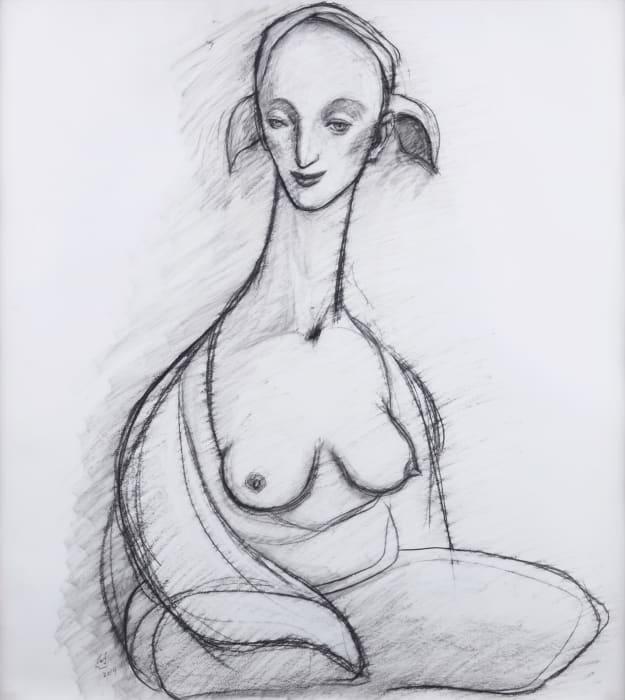 Drawing No. 1410 by Katsura Funakoshi