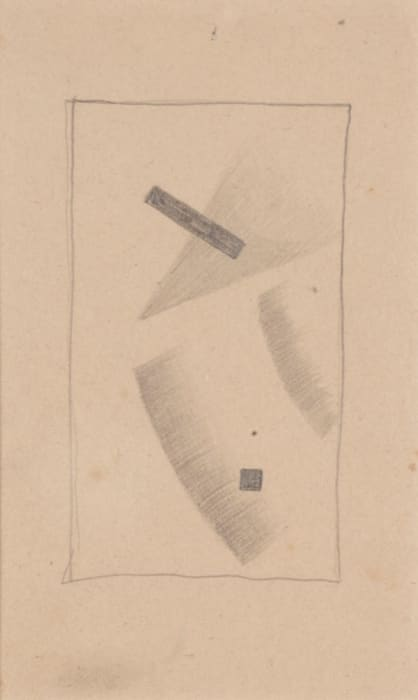 Composition 9 m by Kasimir Malevich