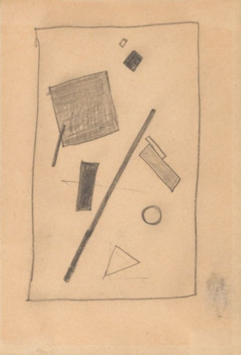 Suprematist Composition by Kasimir Malevich