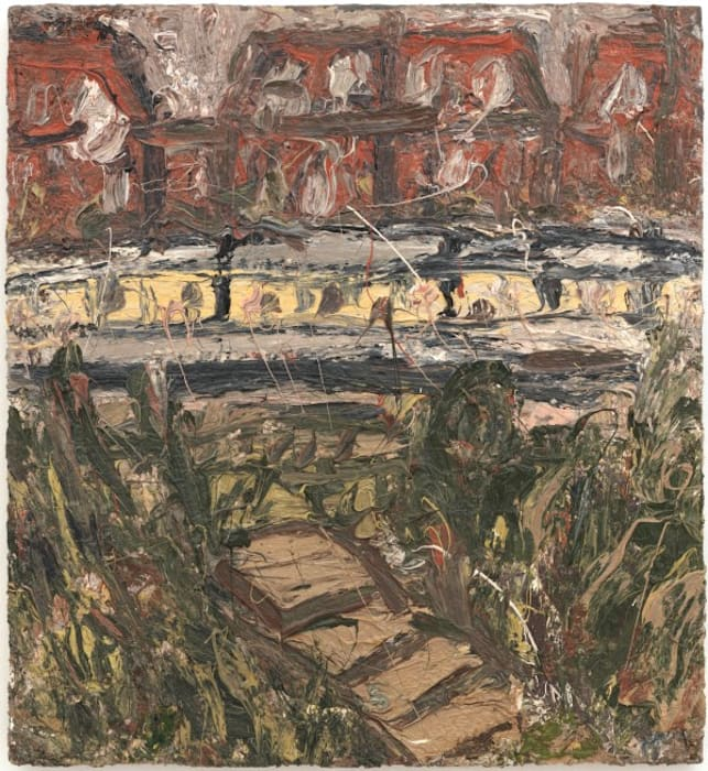 The Tube by Leon Kossoff