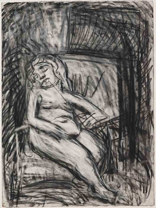 Sally by Leon Kossoff