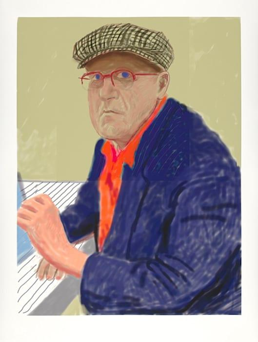 Self Portrait II, 14 March 2012 by David Hockney