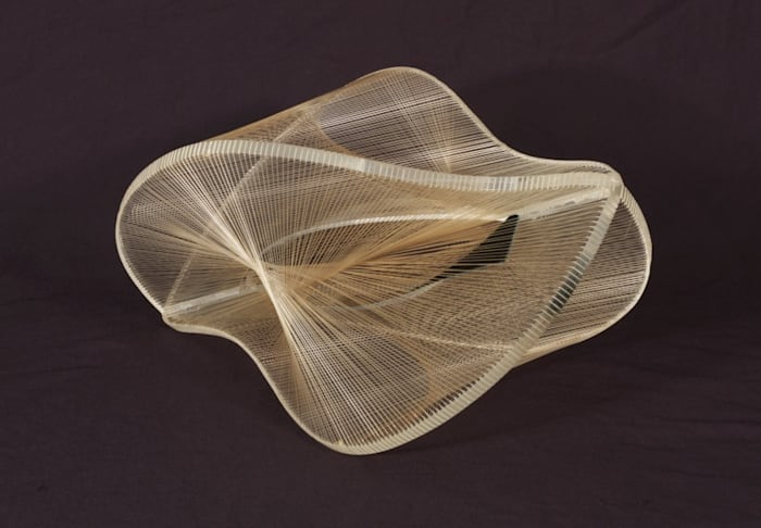 Linear Construction in Space No.2 by Naum Gabo