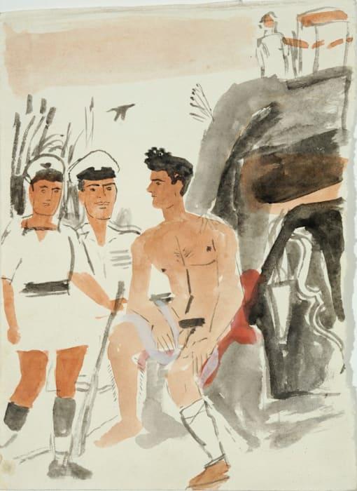 Philoctetes by Yannis Tsarouchis