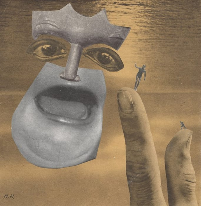 Over the Water by Hannah Höch
