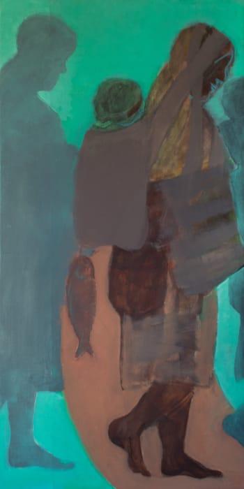 Desplazamiento vertical (Vertical displacement) by Beatriz González