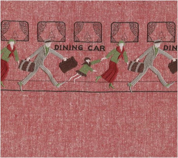 Dining Car (Rot) by Tobias Kaspar