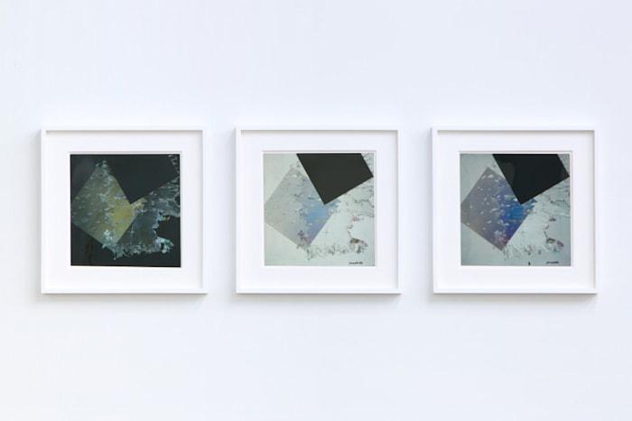 Composizione a luce polarizzata by Bruno Munari