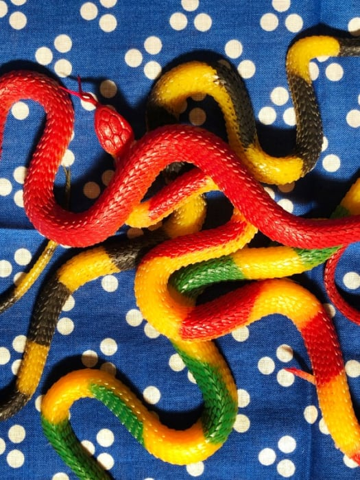 Snakes on a Bandanna by Roe Ethridge