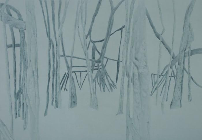 Banyan tree A by Irene Kopelman