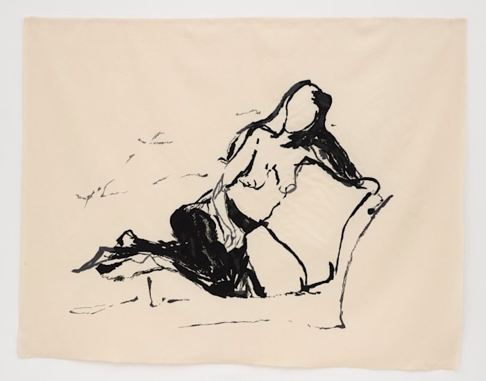 Just waiting for you by Tracey Emin