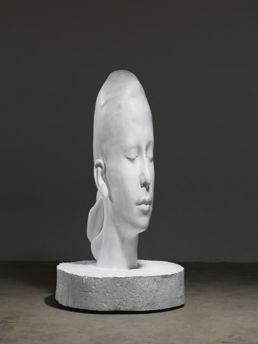 White Forest (Lou) by Jaume Plensa