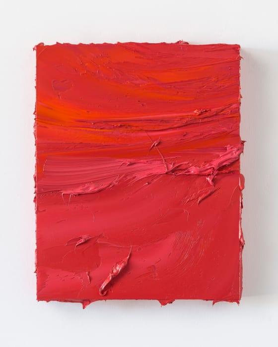 Untitled (Persian Rose/Coral Orange) by Jason Martin