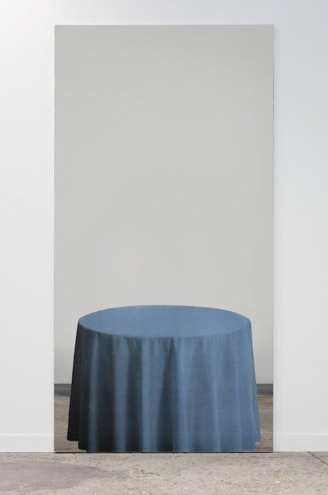 Tavolo azzurro by Michelangelo Pistoletto