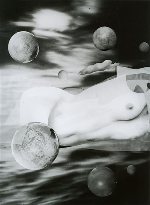 Sueño Nº 10, Cuerpos celestes by Grete Stern