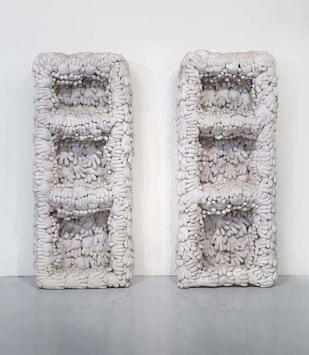 Bookcase Without Books by Yayoi Kusama