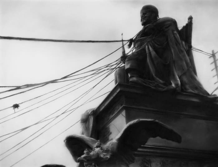 Study for October/Eisenstein by Robert Longo