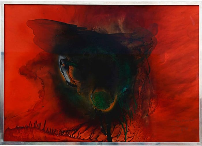 Untitled (Near Disaster) by Otto Piene