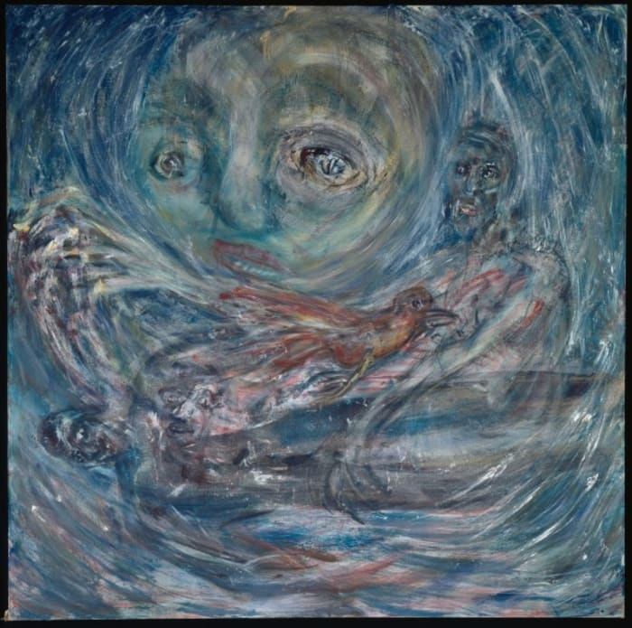Das Loch im Sturm [The Hole in the Storm] by Martin Disler