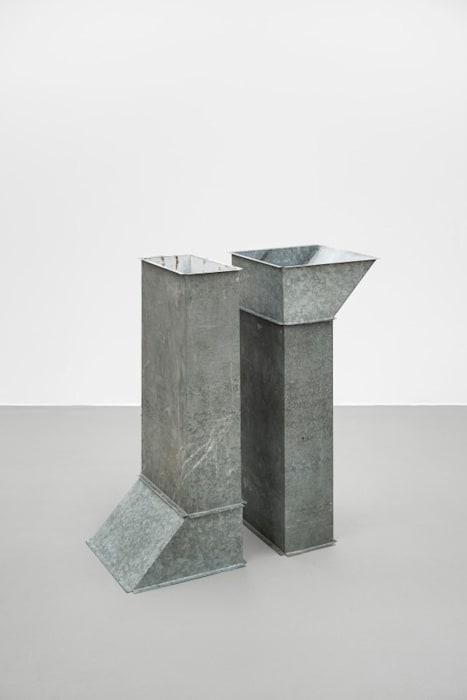Prototypes Square Tubes Series D by Charlotte Posenenske