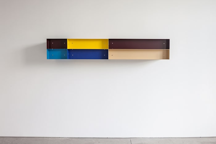 Untitled (Studer 87-18) by Donald Judd