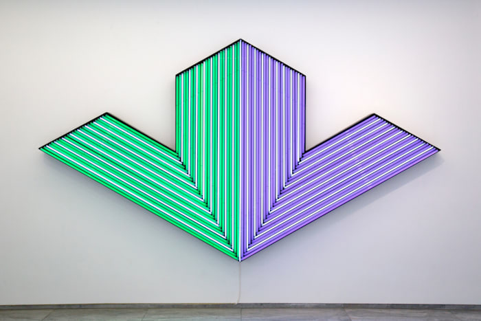 Ifafa V (Stella) by Bertrand Lavier