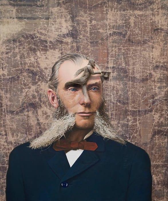 Official Portrait (Homunculus) by Jim Shaw
