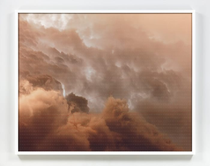 CLOUDS Histogram of Oriented Gradients; Watershed by Trevor Paglen