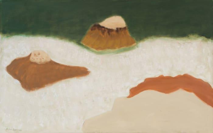 Milton Avery Ten Pound Island (Sea and Rocks) by Milton Avery