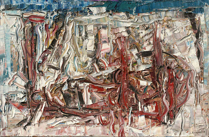 Composition by Jean-Paul Riopelle