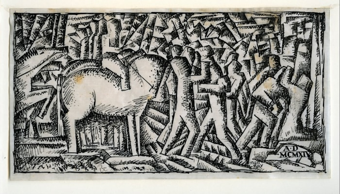 War by Man Ray
