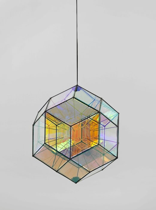 Small rhombic core lamp by Olafur Eliasson