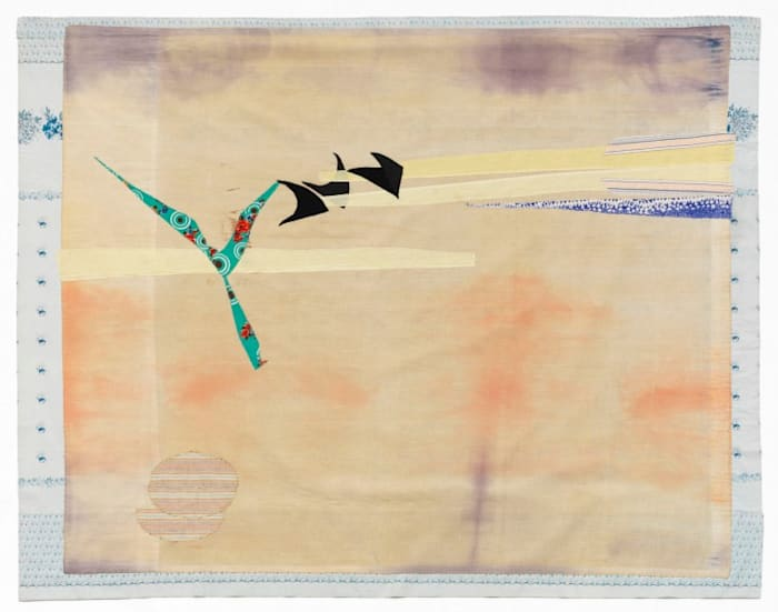 Birds in the Desert 1 by Noa Eshkol