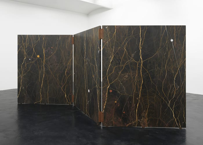 Marble Screen (with Nodular Inclusions) by Simon Starling