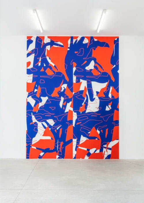 Untitled (F&G) by Arturo Herrera