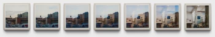 Waking Dream (Studio Window) by Spencer Finch