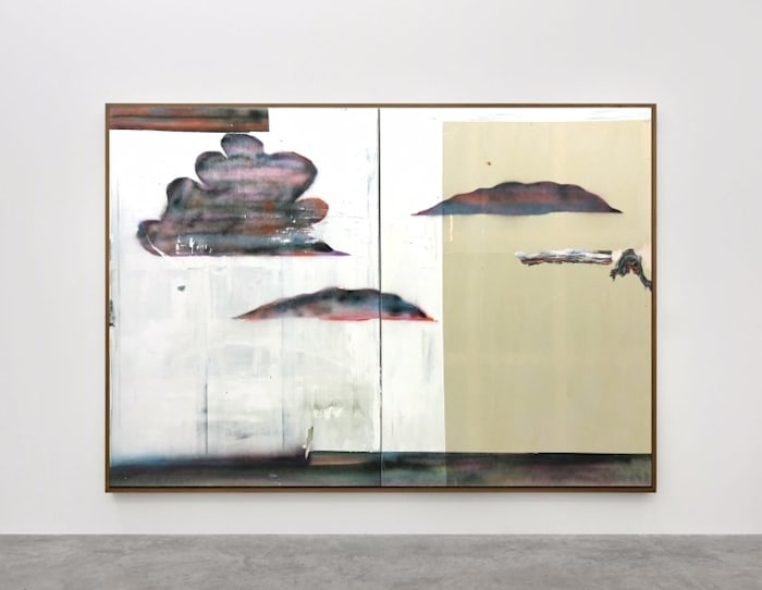 Peinture de nuages by Benoît Maire
