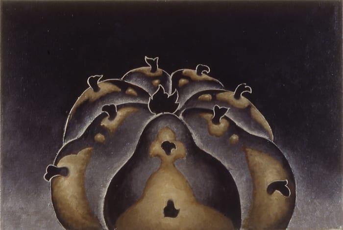 Lopophora Williamsonii (Peyote) by Martin Wong