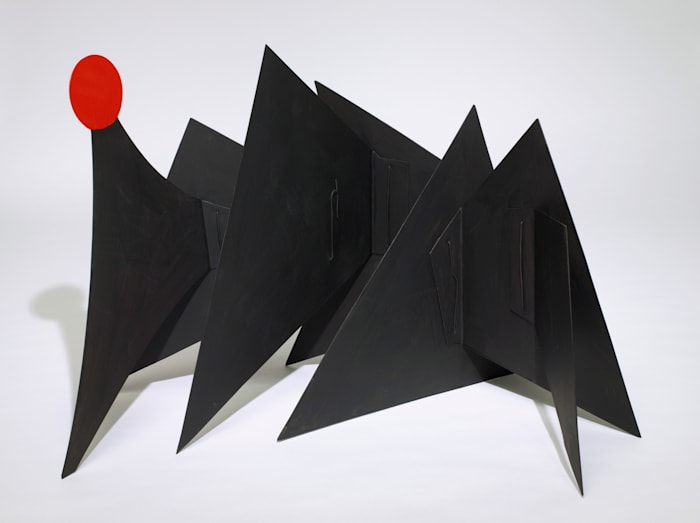 Sun and Mountain [maquette] by Alexander Calder