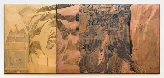 Eye Full Tower (Borealis) by Robert Rauschenberg