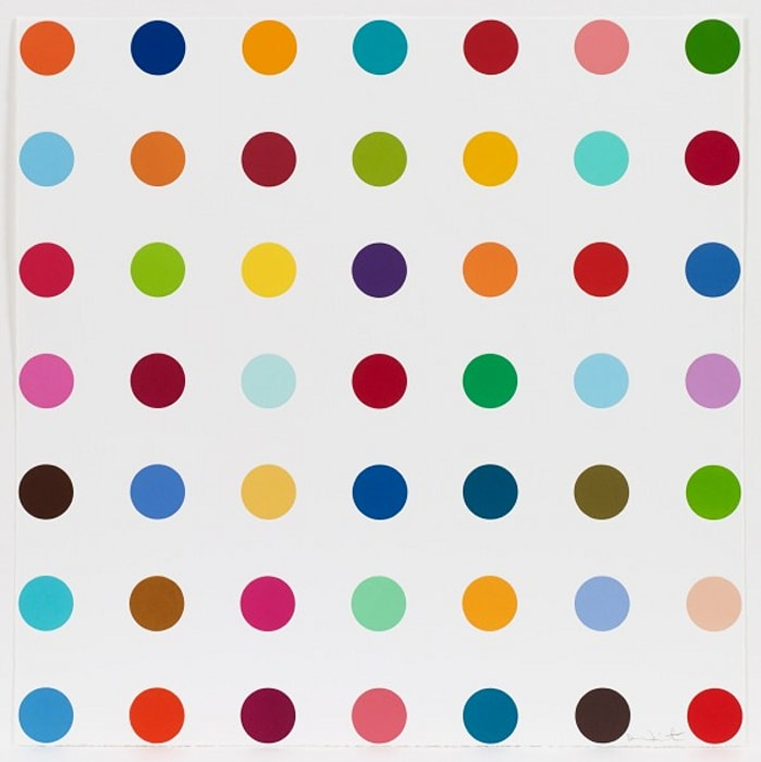 Mannitol by Damien Hirst