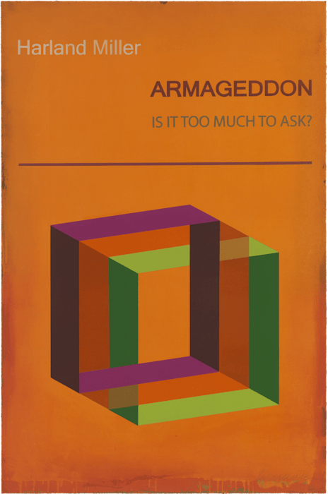 Armageddon (small) by Harland Miller