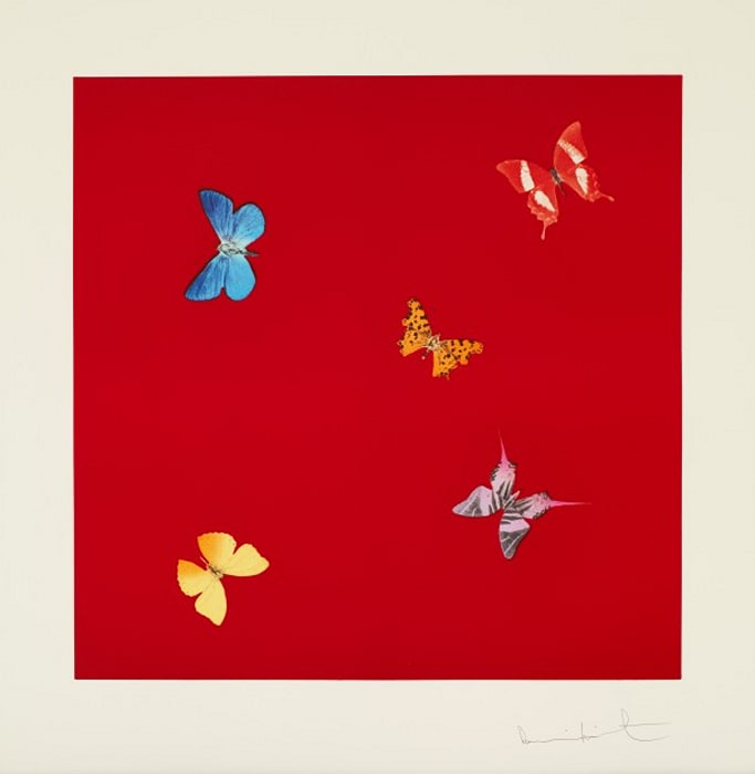 She Walks in Beauty from Love Poems by Damien Hirst