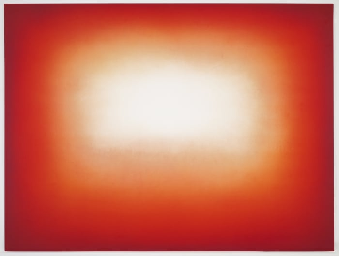 Red Shadow by Anish Kapoor