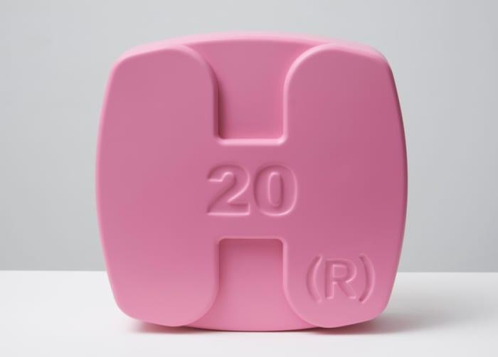 Hygroton (Pink) by Damien Hirst