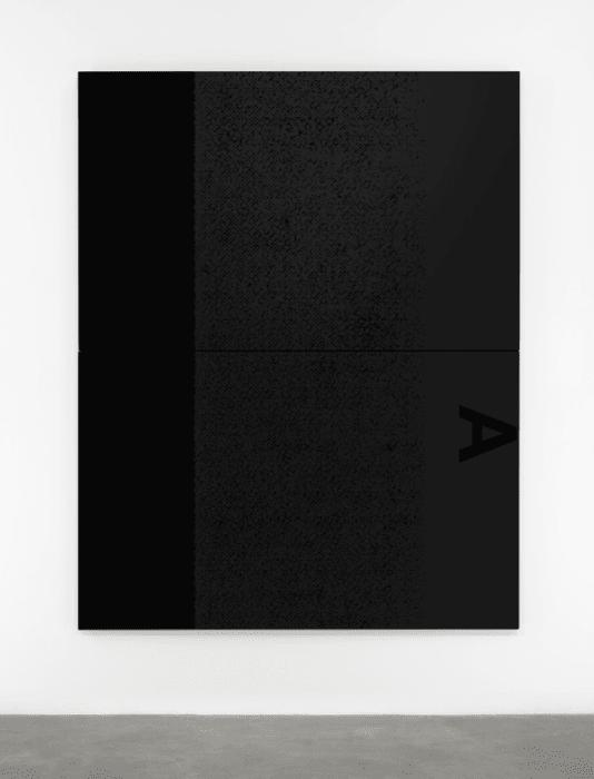 Black Dada/ Column (A) by Adam Pendleton