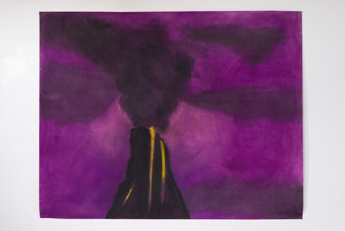 I Don't Want to Die 1 (purple) by Peter Wächtler