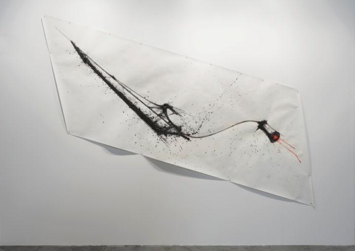 Canoa con stella by Gilberto Zorio