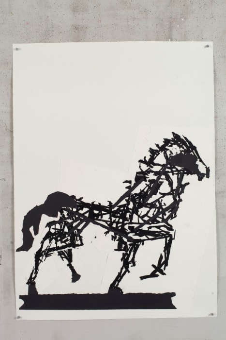 Horse II by William Kentridge